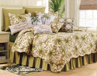 Barbados Sand Luxury Oversized F/Q Quilt