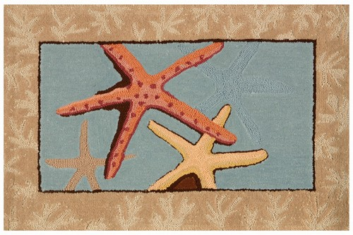 Starfish Area Rug